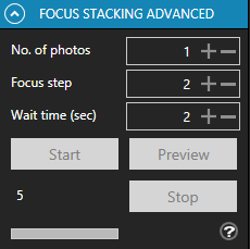 Focus stacking advanced